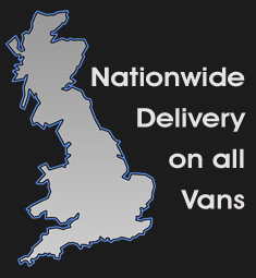 Nationwide van delivery